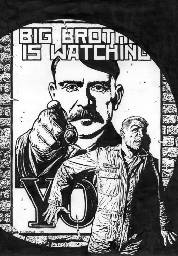 big george essay David aaronovitch considers how a decade of political chaos shaped george orwell's vision of a in an essay for tribune big brother recounts.