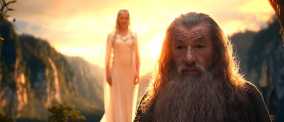 Plus modelable que dans la trilogie précédente, Gandalf est à n'en point douter le personnage qui évoluera le plus.
