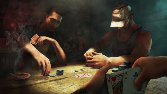 Pour ceux qui n'ont pas d'amis pour y jouer en vrai, on peut même s'essayer au poker.