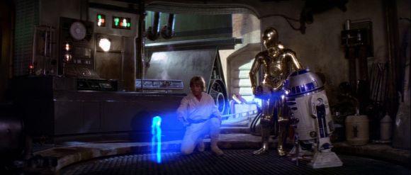 L'aventure vient à Luke, au contraire d'Indiana Jones qui va au devant d'elle.