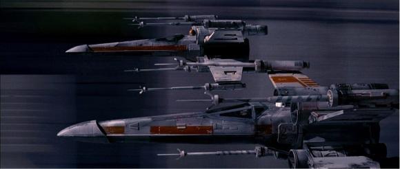 Les vaisseaux ont un design très recherchés.