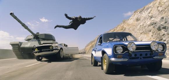 Fast & Furious 6 cascade