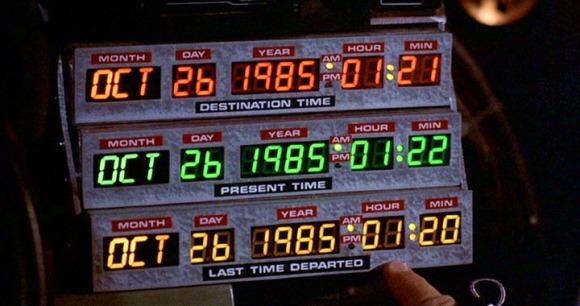 Les temps parallèles retour vers le futur