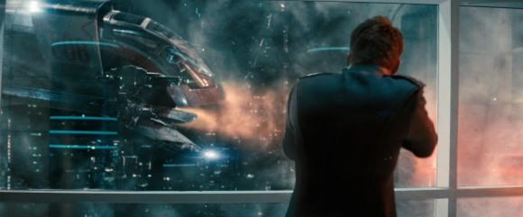 Star Trek Into Darkness fusillade